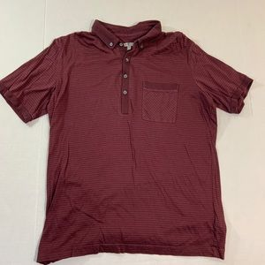 Men's 7 For All Mankind Polo Shirt Red M
